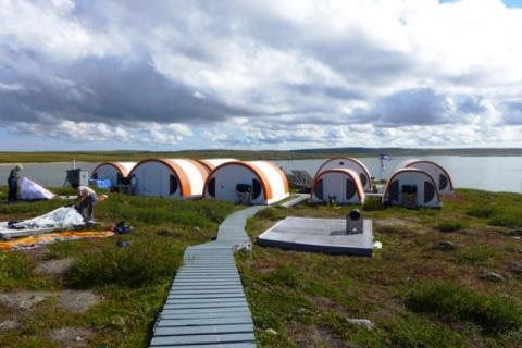 Tundra Ecosystem Research Station. Photo: Jody Pellissey, WRRB