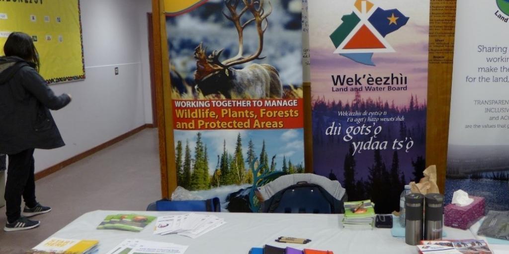 The WRRB, WLWB, and MVLWB tables at CJBS' Career Fair. Photo credit: Shalyn Norrish, WRRB & WLWB.