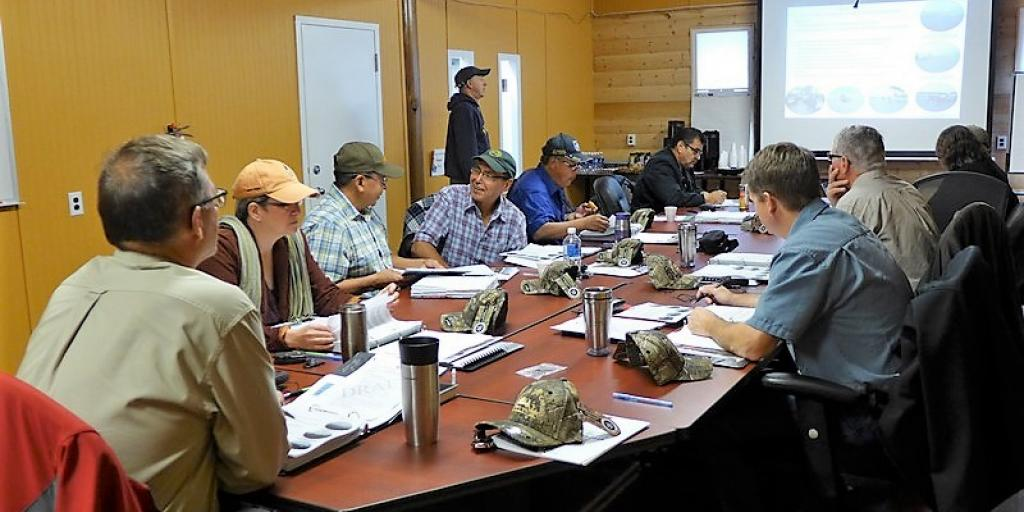 WRRB Board meeting in session (Photo:  Susan Beaumont, WRRB)